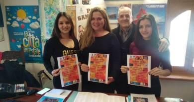 Aerial Silks Competition al Teatro delle Api di Porto Sant'elpidio, e la Pasquella di Sant'Antonio alla Piccola, chiudono Città del Natale 2017.