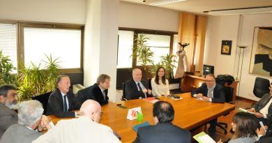 Incontro in Regione per costituire un tavolo tecnico e un protocollo d'intesa per una Camera di commercio unica nelle Marche.