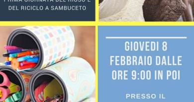 Mercatini, laboratorio e buone prassi di riutilizzo di beni e materiali.Festival del Riuso Diffuso Giovedì 8 febbraio nel piazzale di via Ricasoli.