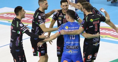 Altra vittoria per 3 - 0 per Cucine Lube Civitanova, che a Padova non ha perso la determinazione necessaria a conservare il secondo posto in classifica.
