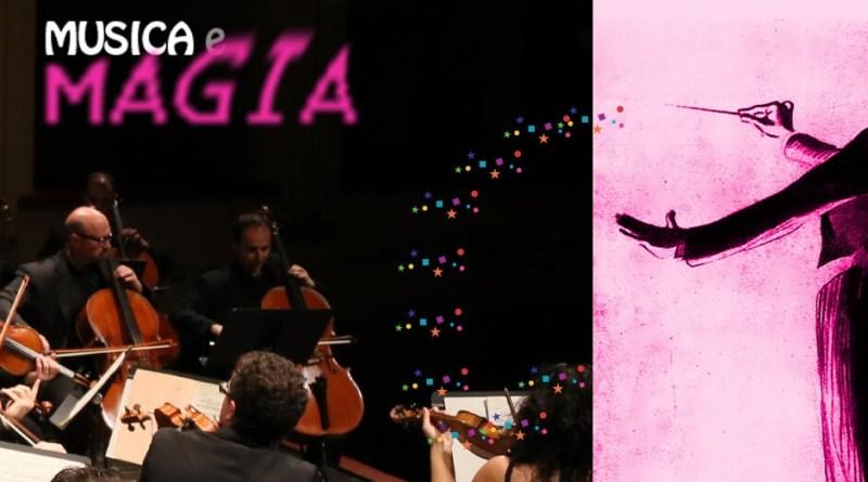 """Domenica 4 marzo alle 11, presso il Teatro delle Muse, la Società Amici della Musica """"Guido Michelli"""" presenta Musica e Magia - Family Concert."""