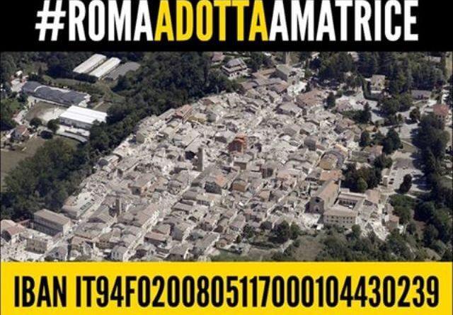 """Campidoglio, #RomaAdottaAmatrice: presto realtà quattro progetti nei territori colpiti dal sisma.Raggi: """"Il cuore dei romani per iniziative concrete e durature""""."""