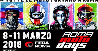 Presentata nel Palazzo delle Federazioni Sportive Nazionali del CONI la decima edizione di Roma Motodays. Dall'8 all'11 marzo in Fiera Roma. #tuttelemotoportanoaroma