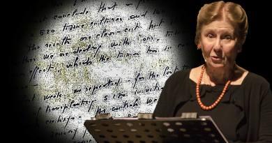 Le parole di Rita. Racconto teatrale per voce, video e musica dalla vita e dalle lettere di Rita Levi Montalcini. Dall'8 al 13 maggio, al Teatro Vittoria.