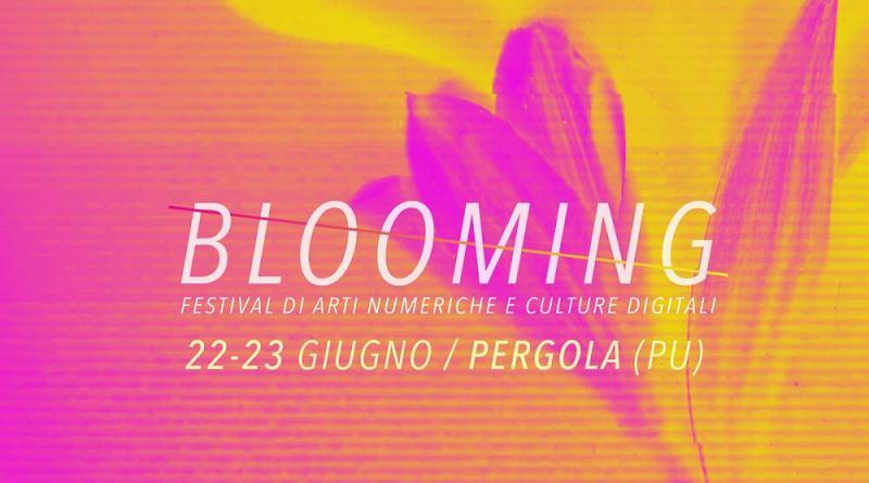 Sabato 22 e domenica 23 giugno, torna il Blooming Festival a Pergola, in provincia di Pesaro Urbino, che animerà il centro storico del bellissimo borgo dell'entroterra marchigiano.