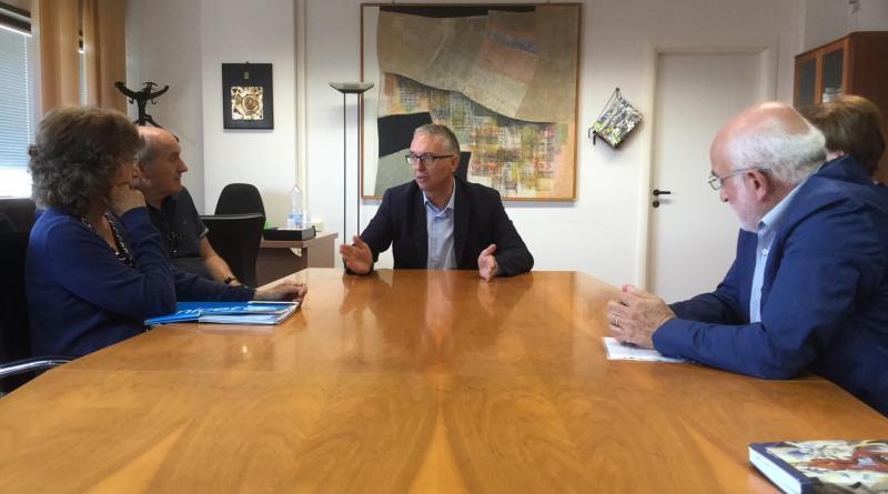 Ieri, lunedì 10 settembre, il Presidente della Regione Marche Luca Ceriscioli ha incontrato una delegazione Unicef guidata da Italo Tononi.