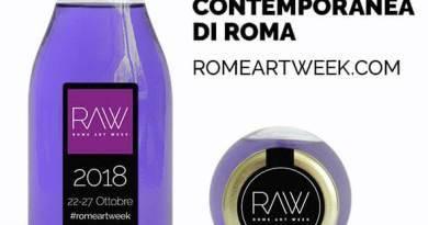 Da lunedì 22 a sabato 27 ottobre 2018 prenderà il via Rome Art Week 2018 che raggiunge anche per questa terza edizione numeri considerevoli