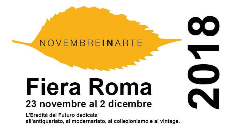 Novembre in arte è il nuovo grande evento che Fiera Roma proporrà per la stagione autunnale, dal 23 novembre al 2 dicembre.