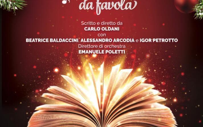 Torna in scena Un Natale da Favola, il 23 dicembre al Nuovo Teatro Orione. Per il secondo anno consecutivo, lo spettacolo evento per grandi e piccini.
