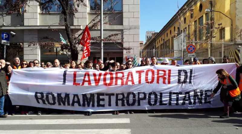 Roma Metropolitane comunica: indetto per il 27 novembre sciopero e manifestazione in Campidoglio.