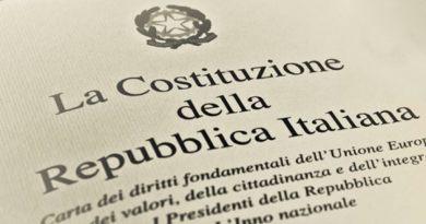 """Baldassarre: """"Continua l'azione per promuovere la conoscenza della Costituzione. Anche nel 2019 eventi e iniziative""""."""