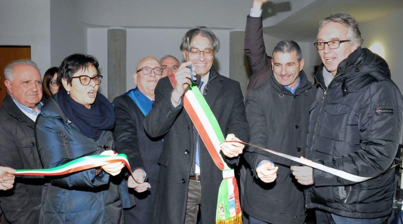 Ieri, giovedì 31 gennaio, a Rotella, in provincia di Ascoli Piceno, sono stati inaugurati gli alloggi a Palazzo Magnalbò, in sostituzione delle Sae.