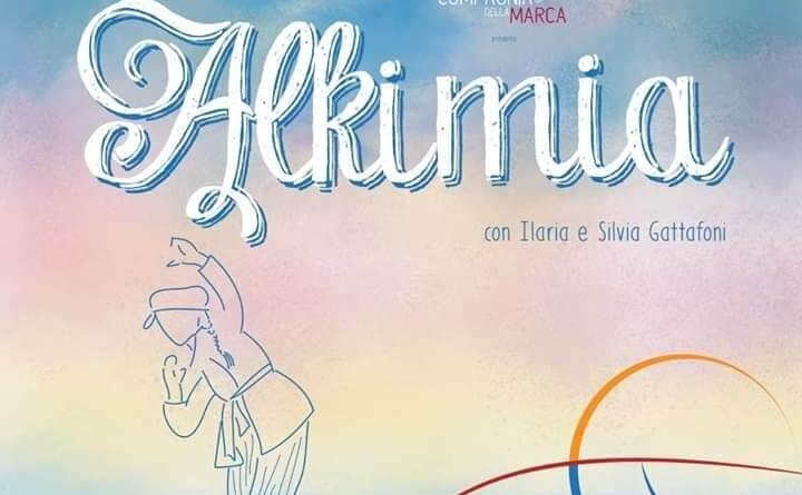 Venerdì 15 marzo, alle 21.15, presso il teatro Verdi di Pollenza, andrà in scena Alkimia, una nuova produzione della Compagnia della Marca.