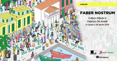 Uscirà il prossimo 26 aprile Faber Nostrum, album tributo a Fabrizio De Andrè, dove diversi artisti del panorama Indie hanno rivisitato alcuni suoi brani.