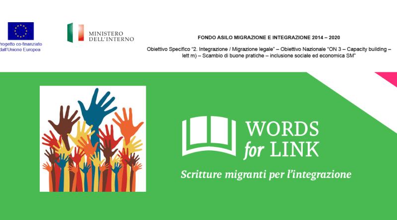 Words4link. Un progetto per promuovere e valorizzare le autrici e gli autori di origine immigrata, le loro opere e il loro contributo d'analisi