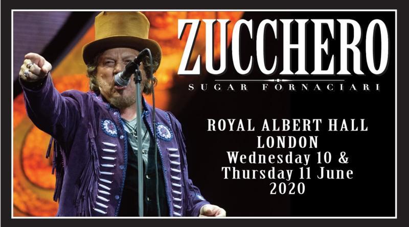 Torna sul palco il cantautore Zucchero Sugar Fornaciari, che nel 2020 si esibirà live in concerto nella suggestiva cornice dell'Arena di Verona, e non solo.