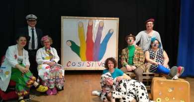 """Cosa significa la parola """"volontariato""""? Che cos'è il Csv? """"Diamoci una mano… Così Si Vola!"""", spettacolo scritto e realizzato dai Dottor Clown Belluno."""