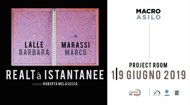 Project Room del MACRO Museo d'Arte Contemporanea di Roma ospita Realtà Istantanee di Barbara Lalle e Marco Marassi, a cura di Roberta Melasecca.