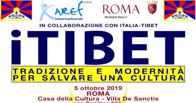 """Sabato 05 ottobre dalle ore 10 alle 20 alla Casa della Cultura, in via Casilina, 665 avrà luogo l'evento """"iTIBET. Tradizione e modernità per salvare una cultura""""."""