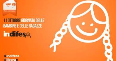 Giornata Mondiale delle Bambine e delle Ragazze. Roma Capitale aderisce a campagna Indifesa. Domani esposto striscione in Campidoglio