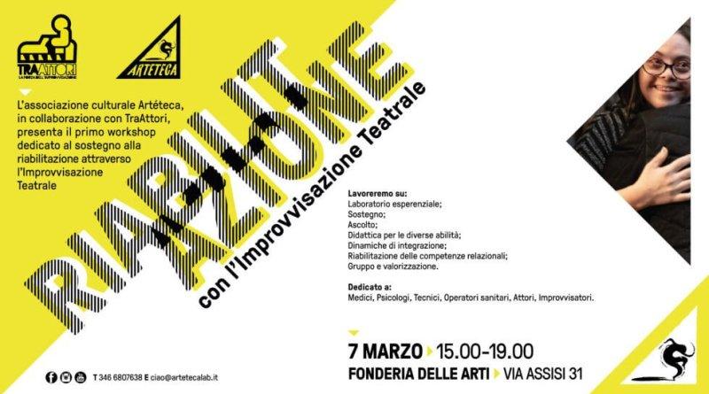 Con Luca Bovenzi, presidente di Artéteca, parliamo di riabilitazione, azione e improvvisazione teatrale, per una vita superAbile!