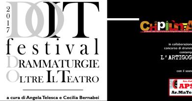 6 spettacoli in concorso, compagnie provenienti da tutta Italia, incontri e conversazioni tra il pubblico e gli artisti, premiazione dei vincitori dei due concorsi dedicati alla drammaturgia contemporanea, presentazioni editoriali. Tutto questo è DOIT Festival, intervista a Cecilia Bernabei.