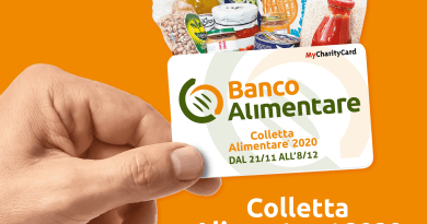 """L'iniziativa storica del Banco Alimentare vedrà quest'anno una Colletta """"dematerializzata"""": dal 21 novembre all'8 dicembre si potranno acquistare alle casse dei supermercati card da 2, 5 e 10 euro che saranno trasformate in cibo per le tante persone in difficoltà"""