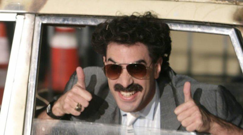Borat è un personaggio di immaginazione che con la sua comicità irriverente, sopra le righe e volgare ha fatto aprire gli occhi al mondo, per ben due volte, sugli Stati Uniti. Un personaggio assurdo che fa ridere ma anche pensare.