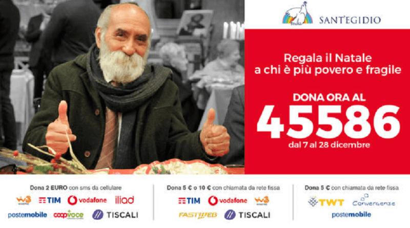 Alla Comunità di Sant'Egidio sarà un Natale diverso, ma con gli amici di sempre, un #NatalePerTutti. Con Massimiliano Signifredi...