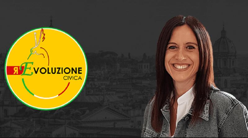 """Revoluzione Civica per Monica Lozzi presidente del Municipio VII e candidata sindaco """"programmare e dimostrare che le cose si possono fare""""."""