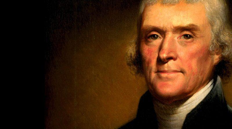 Thomas Jefferson nasce a Shadwell, in Virginia, il 13 aprile del 1743. Diventerà il presidente illuminista riconfermato al secondo mandato