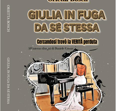 #6SenzaBarcode Online, la rassegna letteraria di artisti emergenti ospita l'autrice Orietta Bosch con Giulia in fuga da sé stessa, Sabato 5 Giugno alle ore 21.