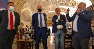 """Roma2021: Roma, Palozzi-Abbruzzese: """"proficuo incontro con Toti e Michetti per rilancio capitale""""."""
