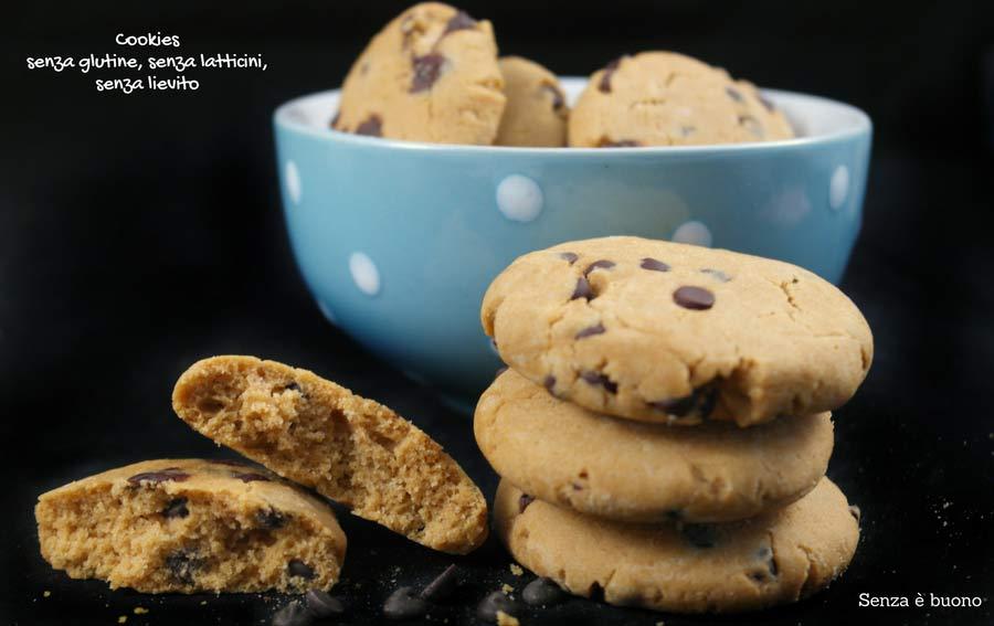Cookies senza glutine e senza burro