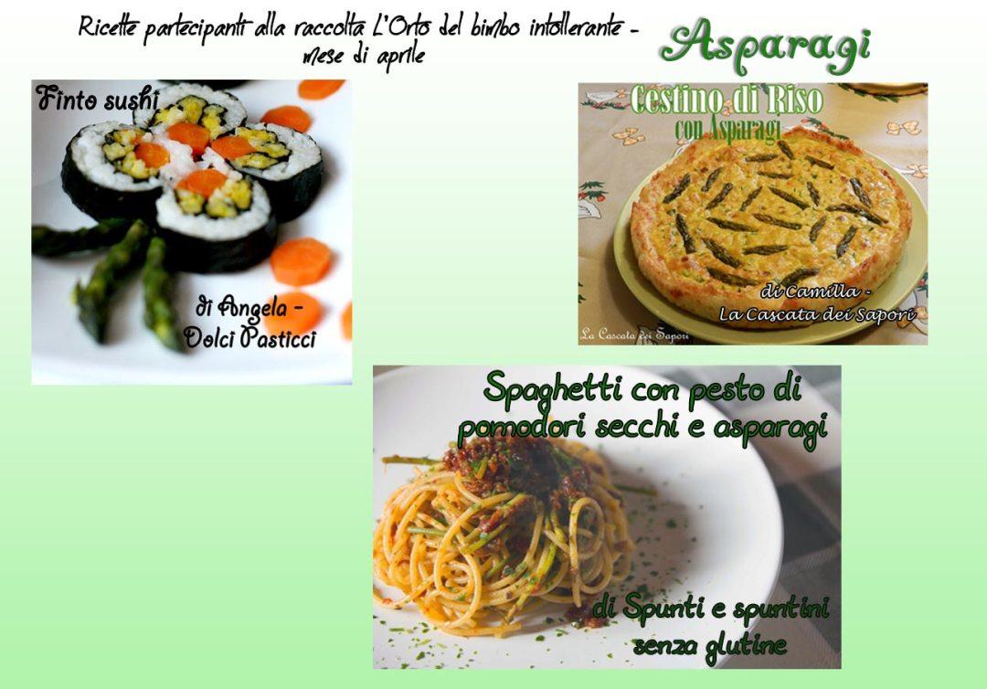 Asparagi, fave, limone e celiachia