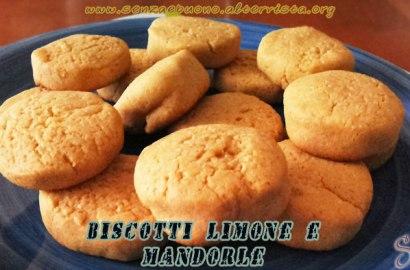 Biscotti al limone senza glutine e vegan