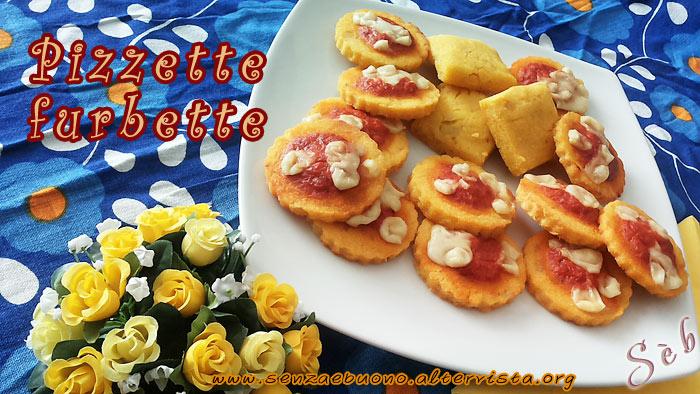 Pizzette senza glutine, vegan e senza lievito con crema di peperoni