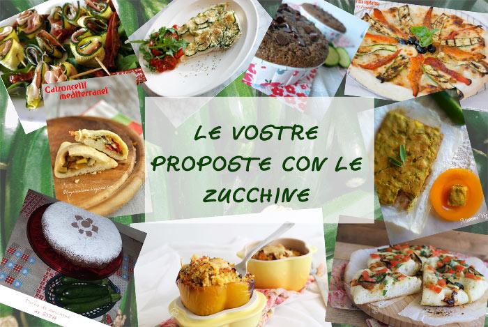 Raccolta di ricette: proposte con le zucchine