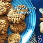 Ricetta dei biscotti alle arachidi senza glutine