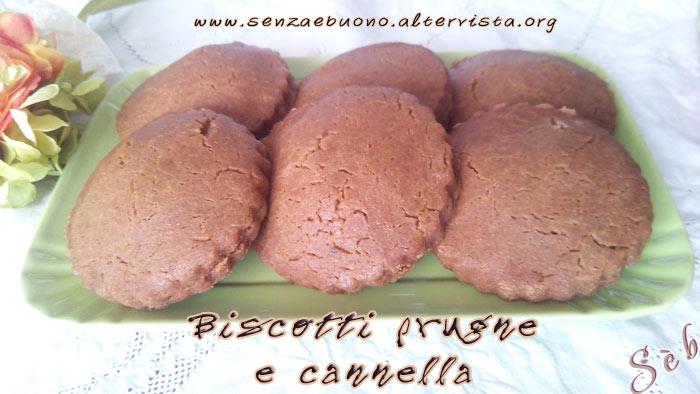Biscotti alle prugne
