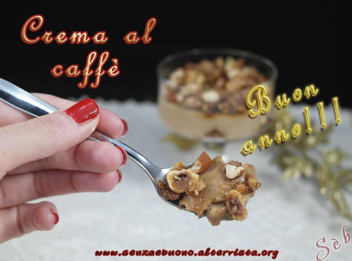 Crema al caffè con crumble