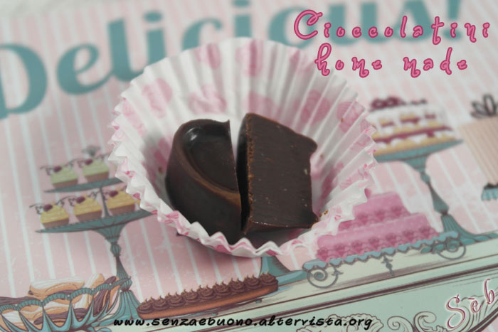 Cioccolatini home made senza glutine e vegan