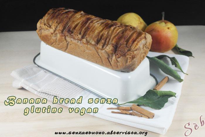 Banana bread vegan e senza glutine