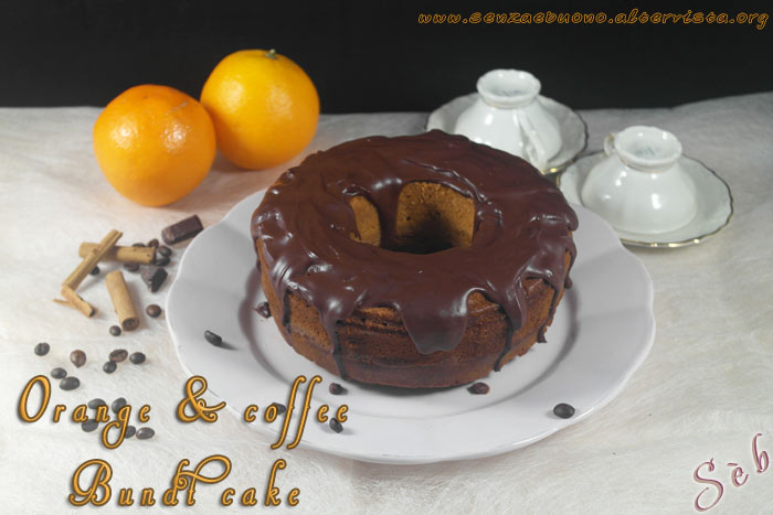 Orange & coffee Bundt cake