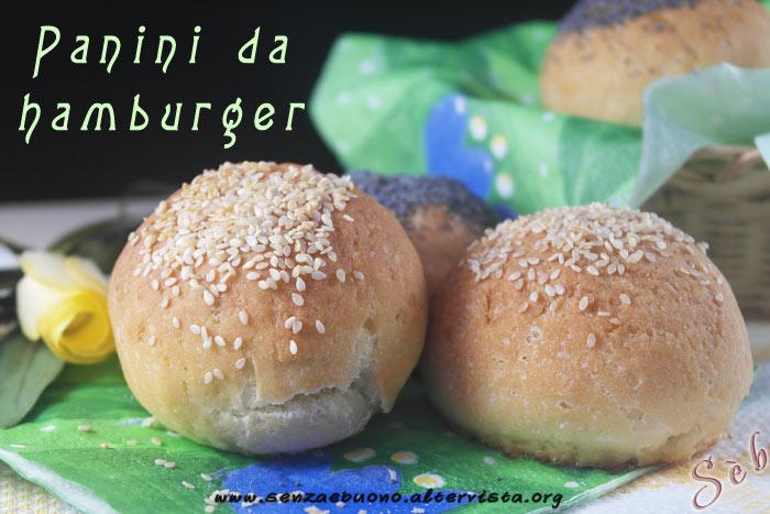 Panini da hamburger vegan e senza glutine
