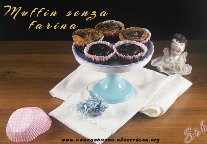 Muffin senza farina