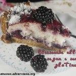 Cheesecake alle more vegan e senza glutine