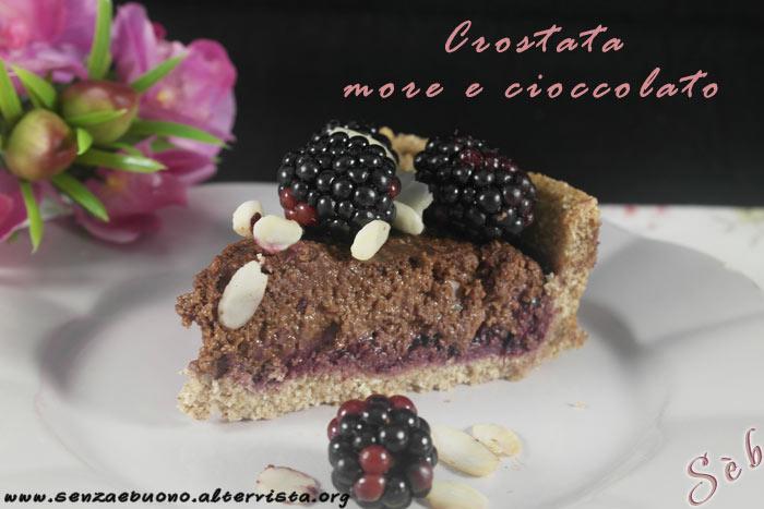 Crostata more e cioccolato