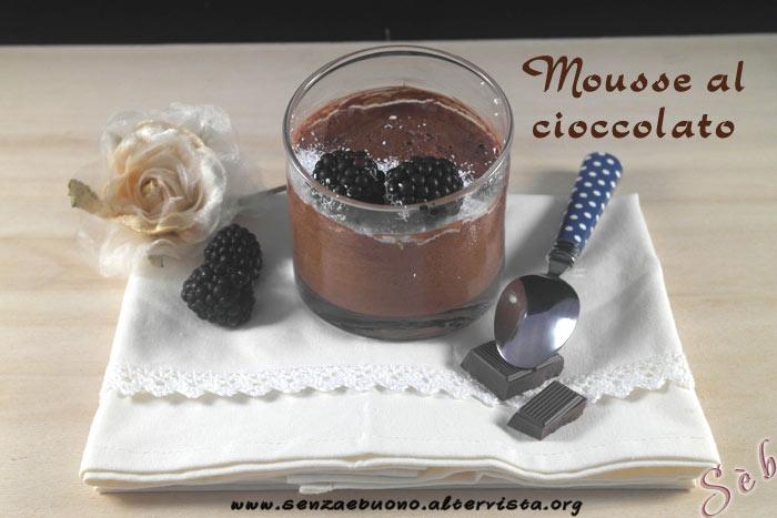 Mousse al cioccolato furbissima