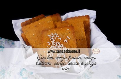 Cracker senza farina